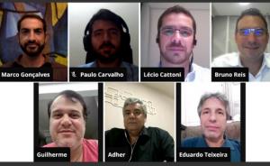 reunião virtual com a Abramepo